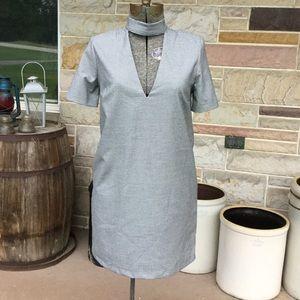 Zara Choker Neckline Dress